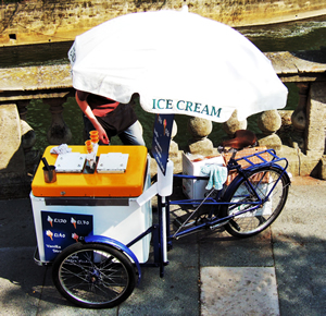 Ice cream bike not the one that we built