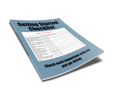 mobile catering checklist