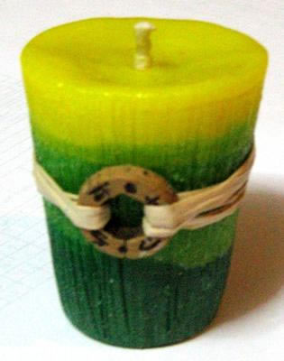 The easiest to make candle design