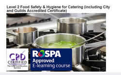 Food Safety & Hygiene Level 2