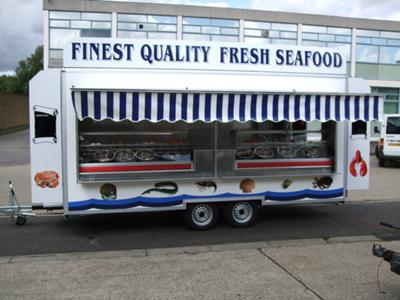 Mobile Catering Trailers and Catering Vans