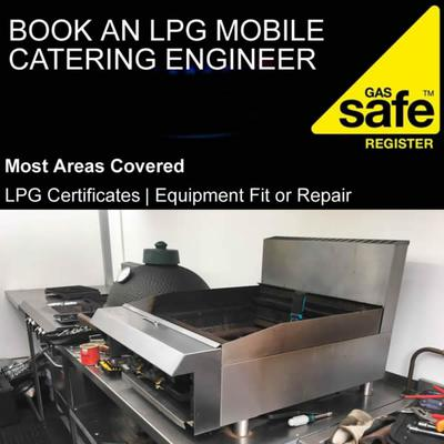 Book a mobile catering engineer
