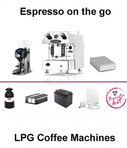 lpg dual fuel coffee machines