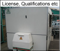mobile catering licence, permits, qualifications, permission