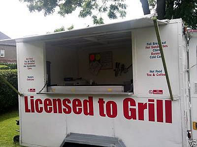 lee's mobile catering trailer