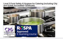 Food and Hygiene Training
