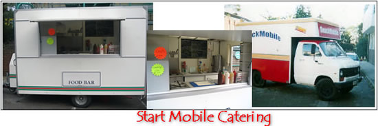 start a mobile catering business