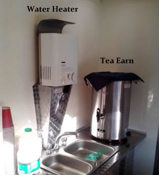 Water heater - Tea Earn