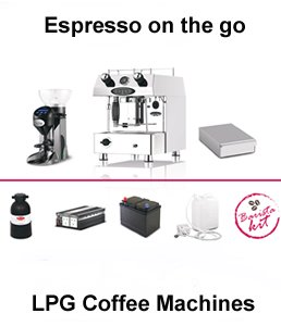 lpg dual fuel coffee machines