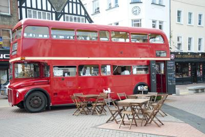 Catering Double Decker Bus